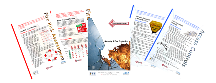 Davenheath OTS Fire & Security Brochures