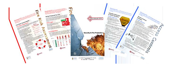 Davenheath OTS Fire & Security Brochures