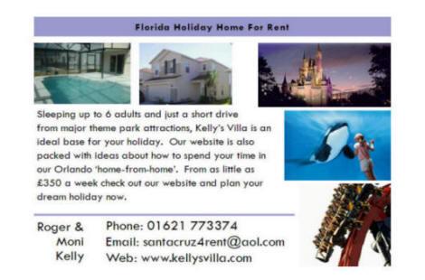 Kelly's Villa - promotional postcard