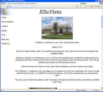Old EllaVista website