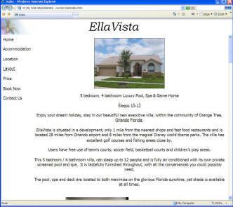 Old EllaVista website