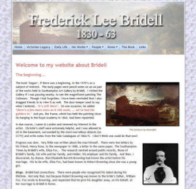 Frederick Lee Bridell website