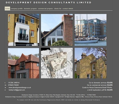 Development Design Consultants website