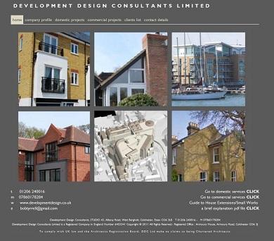 Development Design Consultants website