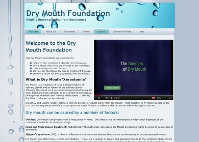 Dry Mouth Foundation website