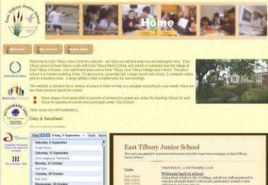 East Tilbury Junior School website