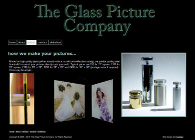 The Glass Picture Company website