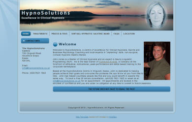 HypnoSolutions website
