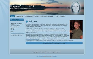 HypnoSolutions website