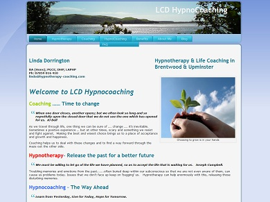 LCD HypnoCoaching website image