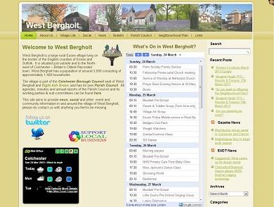 West Bergholt Parish Website Home Page